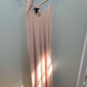 Victoria's Secret light pink slip dress